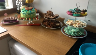 All of the bakes ready to be eaten