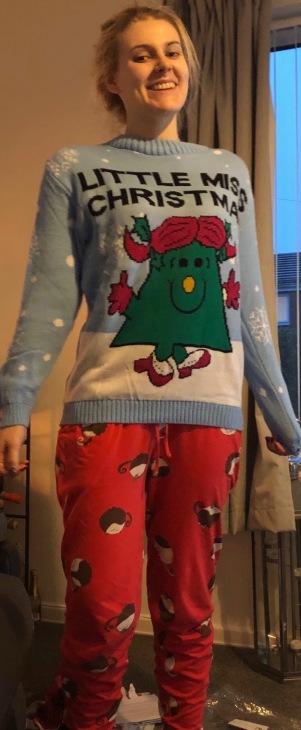 Little Miss Christmas!